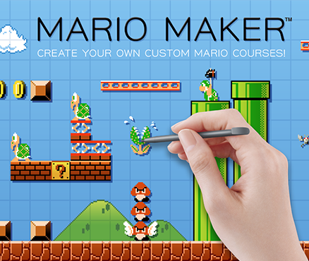 Super Mario Maker - Recurso Internet
